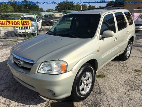2005 Mazda Tribute for sale at Quality Auto Group in San Antonio TX