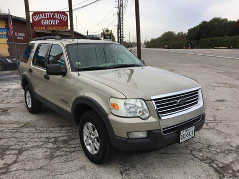 2006 Ford Explorer for sale at Quality Auto Group in San Antonio TX