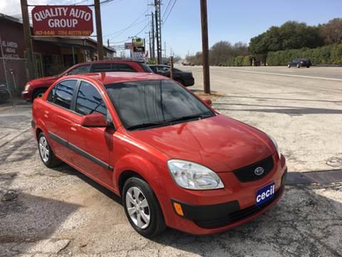 2008 Kia Rio for sale at Quality Auto Group in San Antonio TX