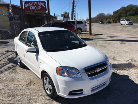 2007 Chevrolet Aveo for sale at Quality Auto Group in San Antonio TX