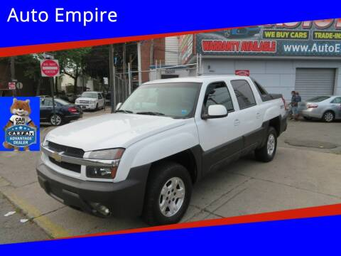 2003 Chevrolet Avalanche for sale at Auto Empire in Brooklyn NY