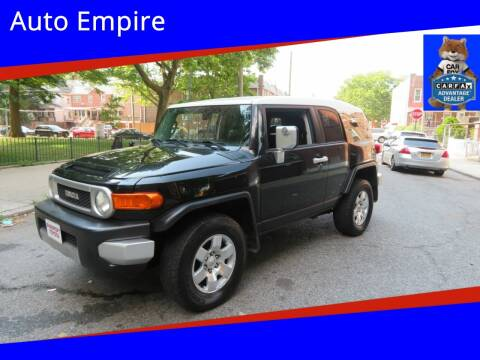 2007 Toyota FJ Cruiser for sale at Auto Empire in Brooklyn NY