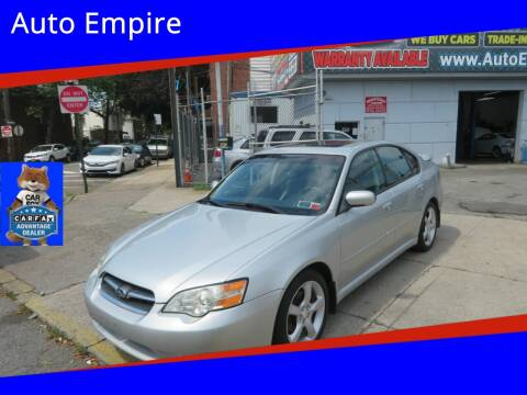 2006 Subaru Legacy for sale at Auto Empire in Brooklyn NY