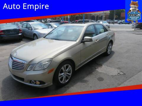2010 Mercedes-Benz E-Class for sale at Auto Empire in Brooklyn NY