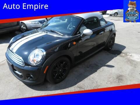 2013 MINI Coupe for sale at Auto Empire in Brooklyn NY