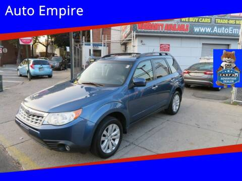 2012 Subaru Forester for sale at Auto Empire in Brooklyn NY