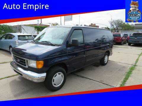 2005 Ford E-Series Cargo for sale at Auto Empire in Brooklyn NY