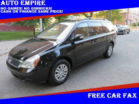 2012 Kia Sedona for sale at Auto Empire in Brooklyn NY