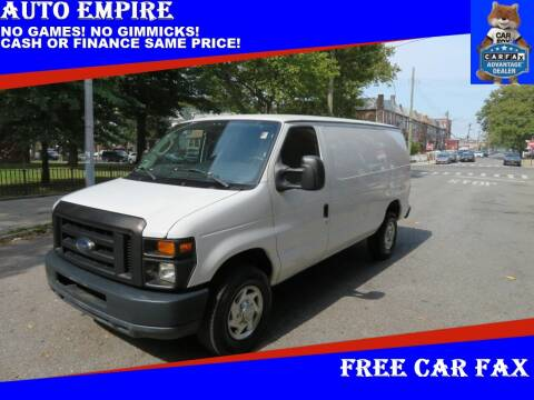 2010 Ford E-Series Cargo for sale at Auto Empire in Brooklyn NY