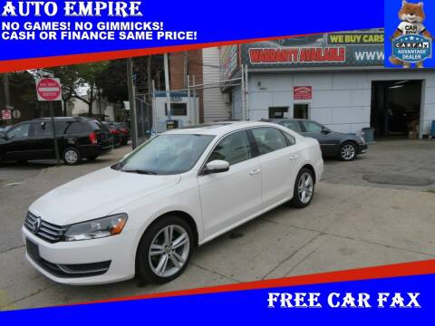 2014 Volkswagen Passat for sale at Auto Empire in Brooklyn NY