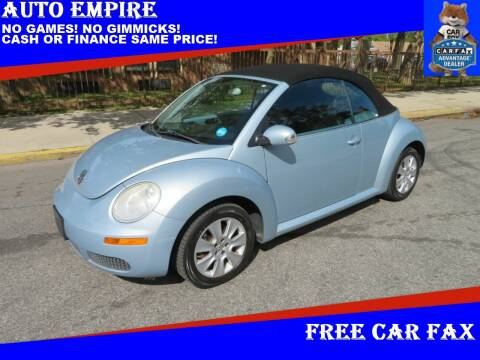 2009 Volkswagen New Beetle Convertible for sale at Auto Empire in Brooklyn NY