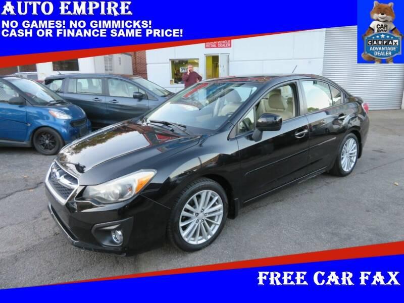 2012 Subaru Impreza for sale at Auto Empire in Brooklyn NY