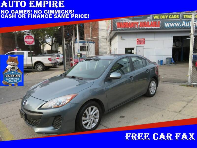 2012 Mazda MAZDA3 for sale at Auto Empire in Brooklyn NY