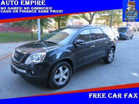 2012 GMC Acadia for sale at Auto Empire in Brooklyn NY