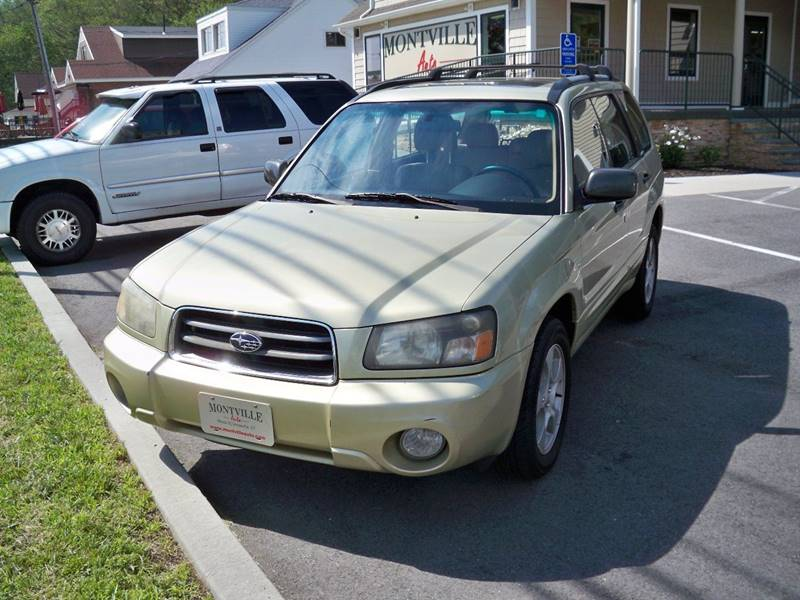 2003 Subaru Forester AWD XS 4dr Wagon - Uncasville CT
