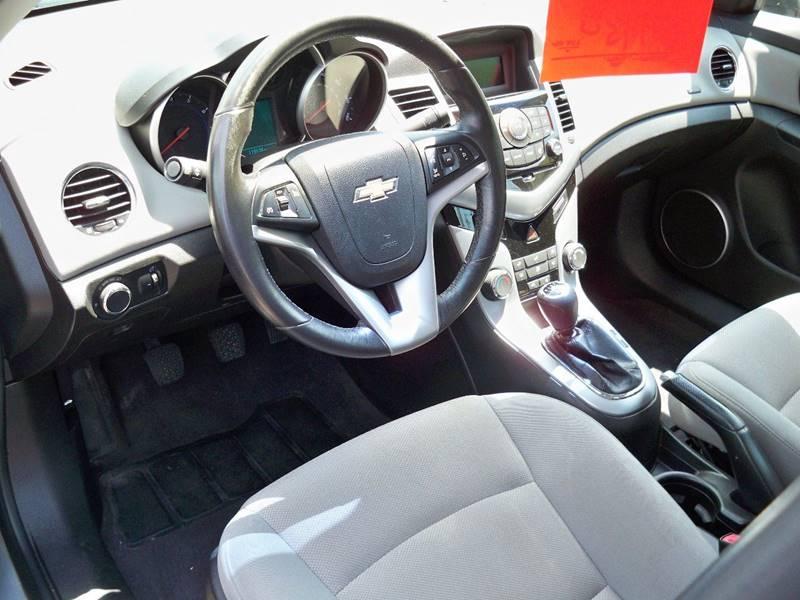 2012 Chevrolet Cruze ECO 4dr Sedan - Uncasville CT