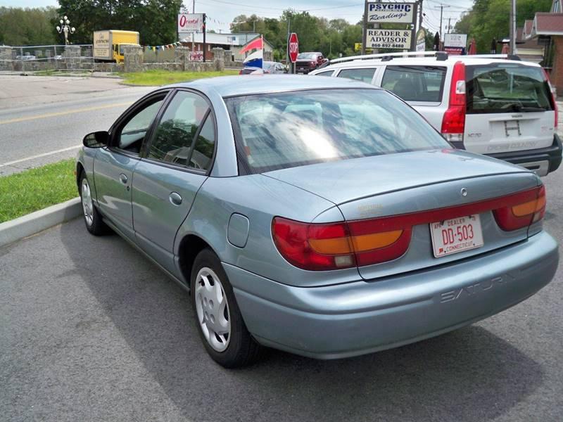 2002 Saturn S-Series SL2 4dr Sedan - Uncasville CT