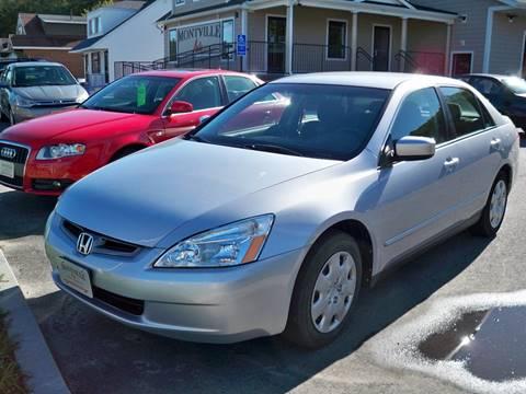 2004 Honda Accord for sale in Uncasville, CT
