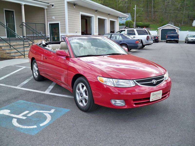2001 Toyota Camry Solara SLE V6 2dr Convertible - Uncasville CT