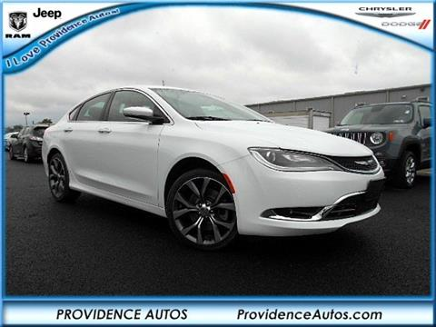 2016 Chrysler 200 for sale in Quarryville, PA