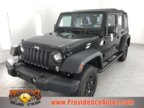 2016 Jeep Wrangler Unlimited for sale in Quarryville, PA