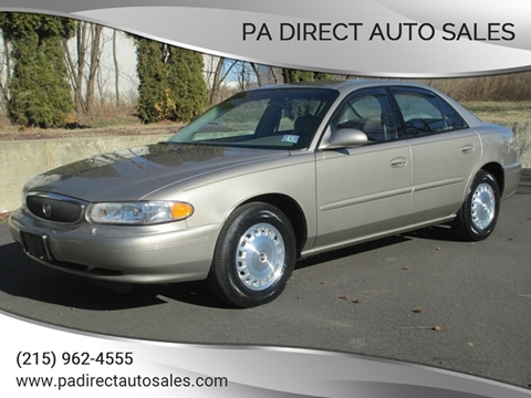 2003 Buick Century for sale at PA Direct Auto Sales in Levittown PA