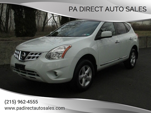 2013 Nissan Rogue for sale at PA Direct Auto Sales in Levittown PA