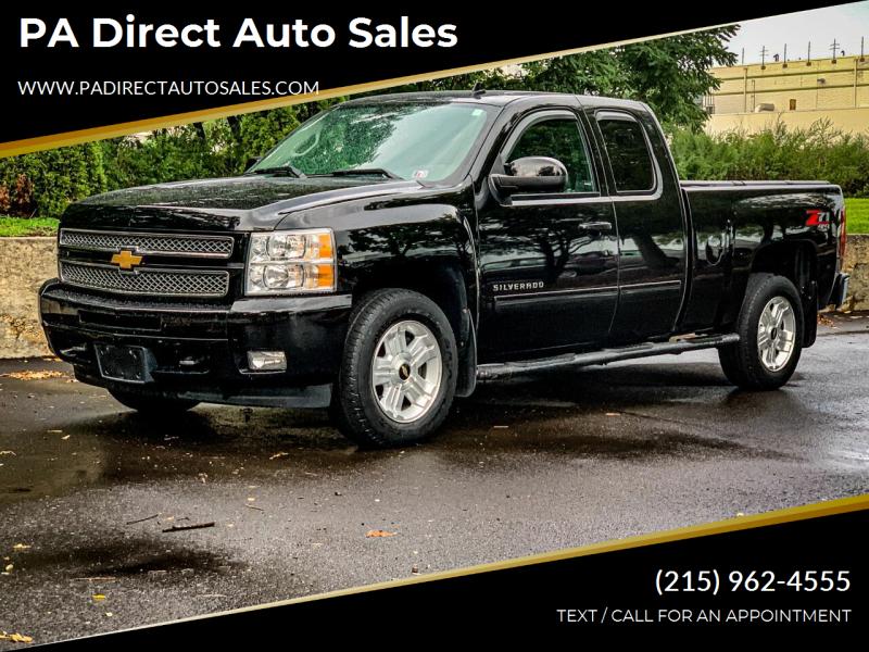 2013 Chevrolet Silverado 1500 for sale at PA Direct Auto Sales in Levittown PA
