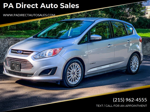 2014 Ford C-MAX Hybrid for sale at PA Direct Auto Sales in Levittown PA