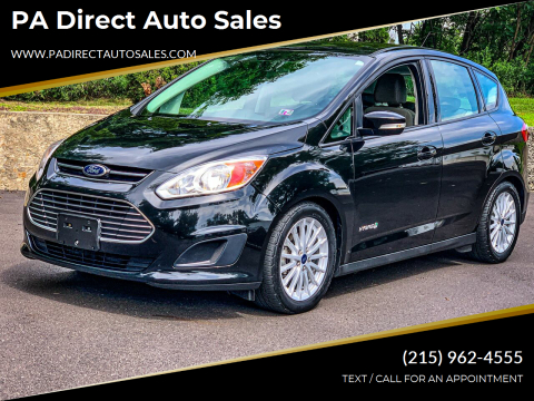 2015 Ford C-MAX Hybrid for sale at PA Direct Auto Sales in Levittown PA