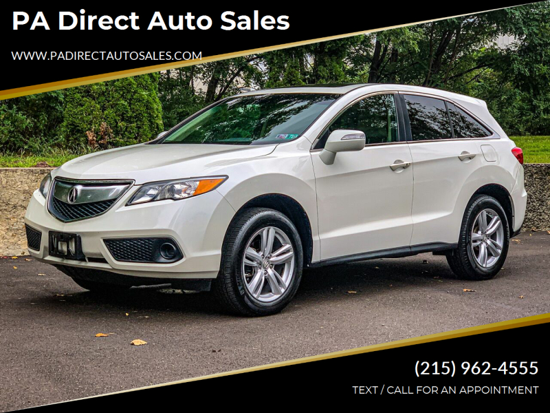 2014 Acura RDX for sale at PA Direct Auto Sales in Levittown PA