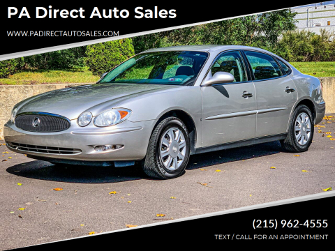 2007 Buick LaCrosse for sale at PA Direct Auto Sales in Levittown PA