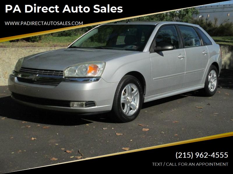 2005 Chevrolet Malibu Maxx for sale at PA Direct Auto Sales in Levittown PA