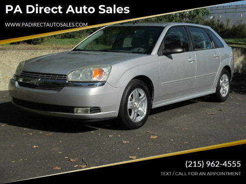 2005 Chevrolet Malibu Maxx for sale at PA Direct Auto Sales in Levittown PA