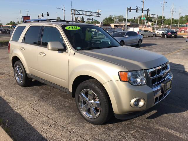 2012 Ford Escape AWD Limited 4dr SUV - Melrose Park IL