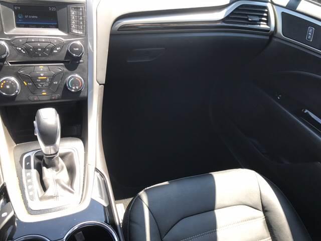 2014 Ford Fusion SE 4dr Sedan - Melrose Park IL