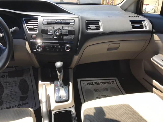 2015 Honda Civic LX 4dr Sedan CVT - Melrose Park IL