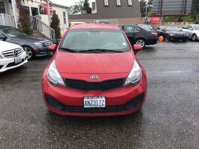 2013 Kia Rio LX 4dr Sedan 6A - Lakewood WA