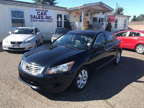 2008 Honda Accord for sale in Lakewood, WA