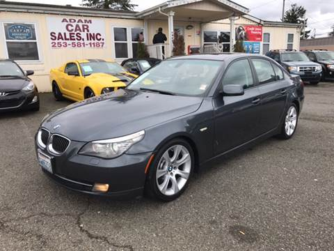 2008 BMW 5 Series for sale in Lakewood, WA