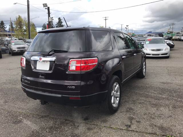 2009 Saturn Outlook AWD XE 4dr SUV - Lakewood WA