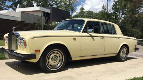 1979 Rolls-Royce Silver Shadow for sale in Tomball, TX