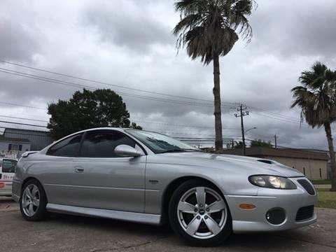 2006 Pontiac GTO for sale in Houston, TX