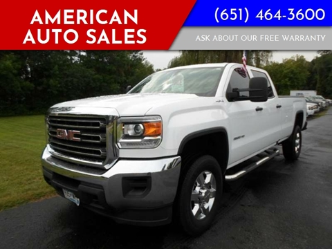2016 GMC Sierra 2500HD for sale in Forest Lake, MN