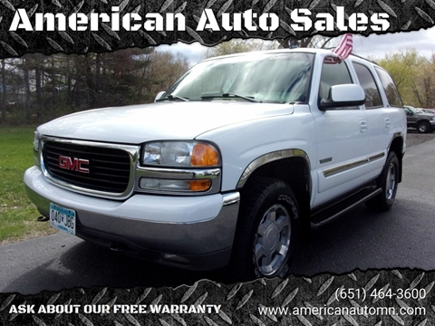 2006 GMC Yukon for sale in Forest Lake, MN