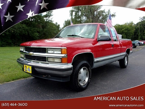 1996 Chevrolet C/K 1500 Series for sale in Forest Lake, MN