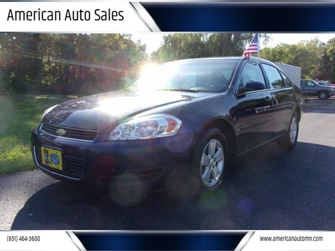 2008 Chevrolet Impala for sale in Forest Lake, MN