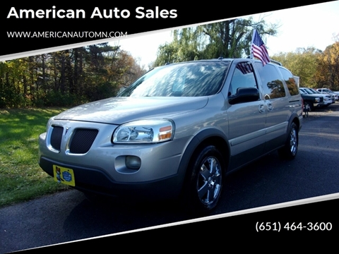 2005 Pontiac Montana SV6 for sale in Forest Lake, MN