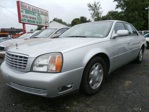 2002 Cadillac DeVille for sale at Nile Auto in Columbus OH
