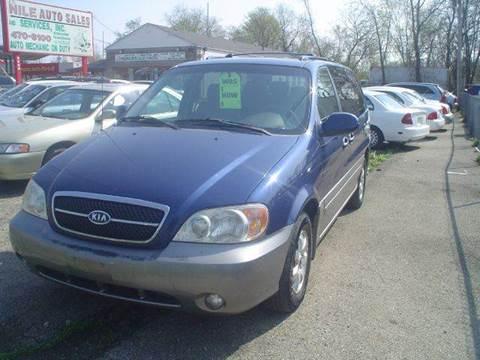 2004 Kia Sedona for sale at Nile Auto in Columbus OH